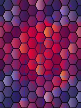 Abstract Vector Geometric Background. Seamless Vector Background Can Be Used for Annual Reports, Bo by Alextanya