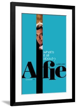 Alfie--Framed Original Poster