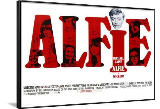 Alfie--Framed Poster