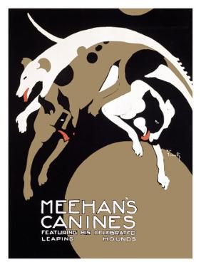 Meehans Leaping Hound Dog Circus by Alfonso Iannelli