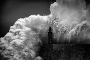 Hugging the Lighthouse by Alfonso maseda varela