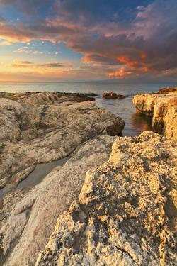 Italy, Sicily, Brucoli Cliff by Alfonso Morabito