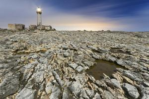 Italy, Sicily, the Lighthouse on the Cliffs of Capo Murro Di Porco, Plemmirio Natural Reserve by Alfonso Morabito