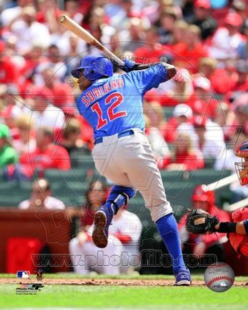 Alfonso Soriano 2012 Action