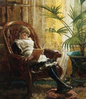 A Quiet Read by Alfred Augustus Glendening II