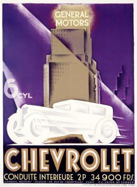 Chevrolet by Alfred Cardinaux