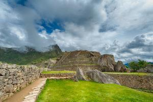 Machu Picchu Details by Alfred Cats