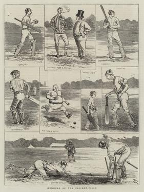 Humours of the Cricket-Field by Alfred Chantrey Corbould