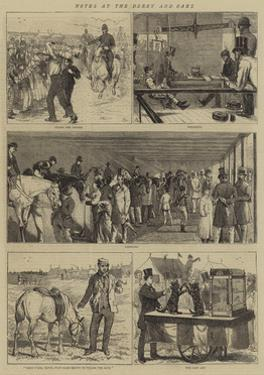 Notes at the Derby and Oaks by Alfred Chantrey Corbould