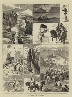 Sketches in Iceland by Alfred Chantrey Corbould