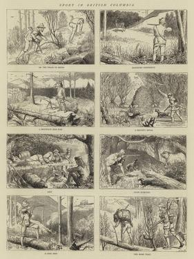 Sport in British Columbia by Alfred Chantrey Corbould