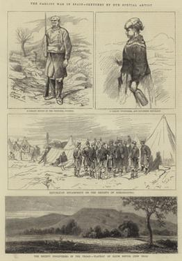 The Carlist War in Spain by Alfred Chantrey Corbould