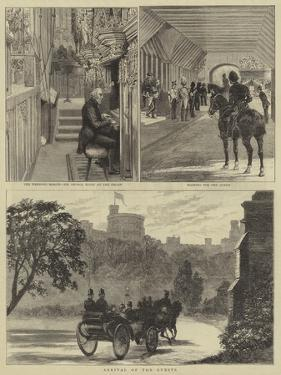 The Royal Wedding at Windsor by Alfred Chantrey Corbould