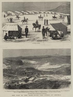 The War in the East, with the Turks at Shumla by Alfred Chantrey Corbould