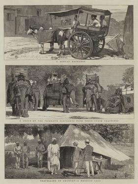 Views in India by Alfred Chantrey Corbould