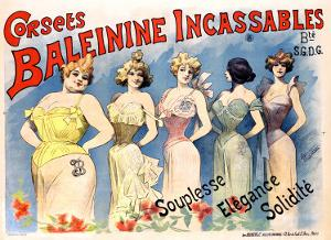 Corsets Baleinine Incassables by Alfred Choubrac