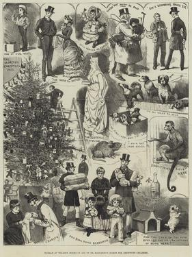 Bazaar at Willis's Rooms in Aid of Dr Barnardo's Homes for Destitute Children by Alfred Courbould
