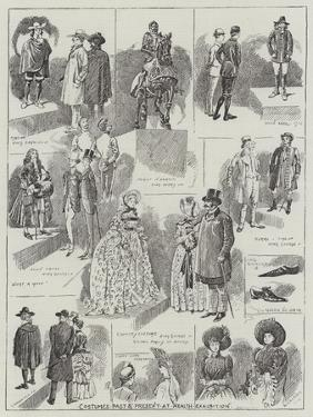 Costumes Past and Present at the Health Exhibition by Alfred Courbould