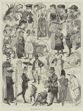 Fancy-Dress Ball at the Mansion House by Alfred Courbould