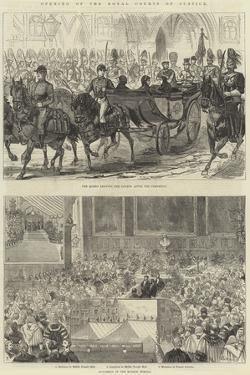 Opening of the Royal Courts of Justice by Alfred Courbould