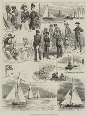 Royal Thames Yacht Club, Amateur Sailing Match by Alfred Courbould