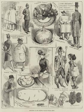 Sketches at the Crystal Palace Potato Show by Alfred Courbould