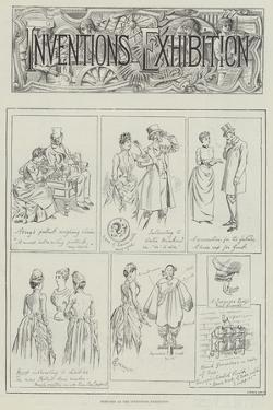 Sketches at the Inventions Exhibition by Alfred Courbould