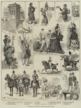 Sketches at the Royal Review on Saturday Last by Alfred Courbould