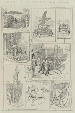 Sketches at the Wimbledon Rifle Meeting by Alfred Courbould