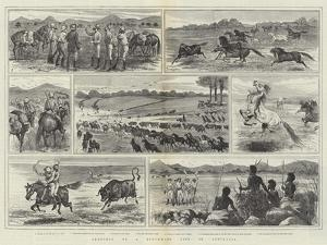 Sketches of a Stockman's Life in Australia by Alfred Courbould