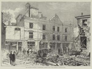 The Dynamite Outrages in Westminster, General View of the Damage in Scotland-Yard by Alfred Courbould