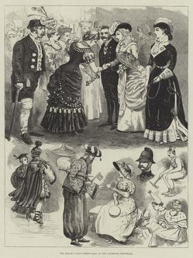 The Mayor's Fancy-Dress Ball at the Liverpool Townhall by Alfred Courbould