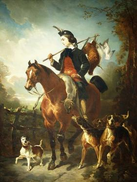 The Young Gamekeeper by Alfred Dedreux