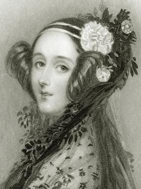 Portrait of Augusta Ada King by Alfred-edward Chalon