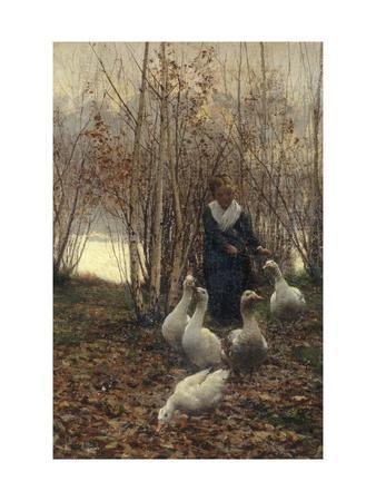 The Goose Maiden-Brittany, 1881