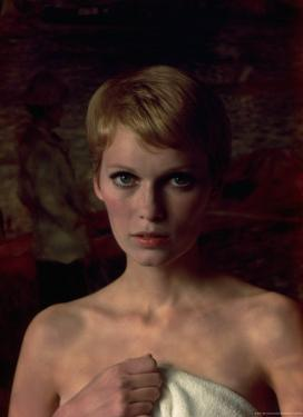 Actress Mia Farrow by Alfred Eisenstaedt