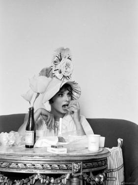 Actress Sophia Loren by Alfred Eisenstaedt