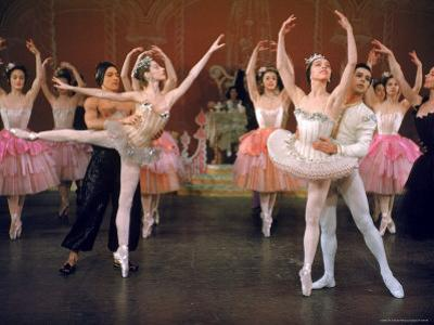 Ballerina Maria Tallchief and Others Performing the Nutcracker Ballet at City Center by Alfred Eisenstaedt