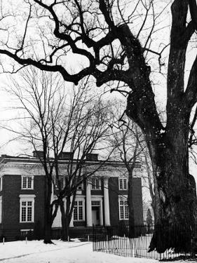 Building on Campus of St. John's College, Annapolis, Maryland by Alfred Eisenstaedt