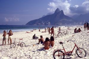 July 1973: Ipanema Beach, Rio De Janeiro by Alfred Eisenstaedt