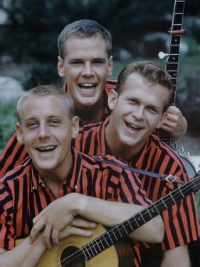 Kingston Trio by Alfred Eisenstaedt