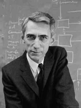 Mathematician Claude E. Shannon, Inventor of Information Theory by Alfred Eisenstaedt