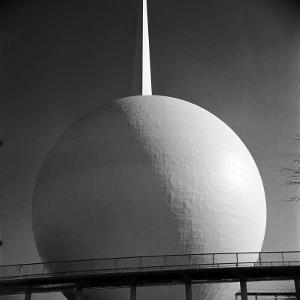 Perisphere and Trylon, Icons of the 1939 New York World's Fair by Alfred Eisenstaedt