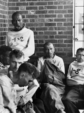 Pilgrim State Hospital Inmates by Alfred Eisenstaedt