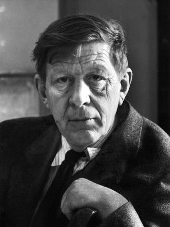 Poet Author W. H. Auden by Alfred Eisenstaedt