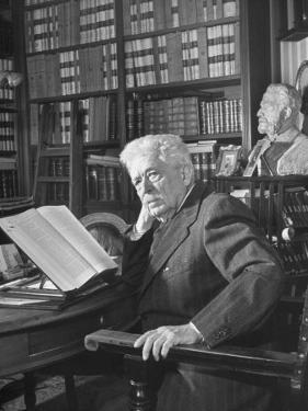 Portrait of Vittorio Emanuele Orlando, Elder Statesman of Italian Politics by Alfred Eisenstaedt