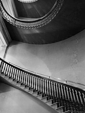 Spiral Staircase in the State Department Building by Alfred Eisenstaedt