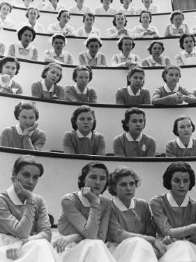 Student Nurses at Roosevelt Hospital by Alfred Eisenstaedt