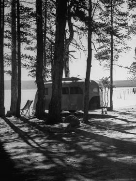 Trailer Park in Yellowstone National Park by Alfred Eisenstaedt