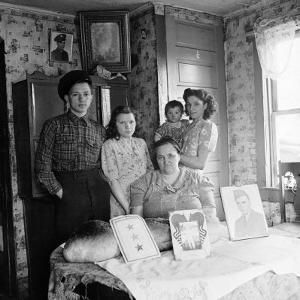 Typical Family of a Small Coal Mining Town by Alfred Eisenstaedt